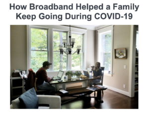 Beyond - How Broadband Helped a Family Keep Going During COVID